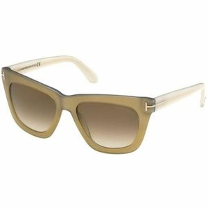 NWT Tom Ford Celina Sunglasses Ivory Frame